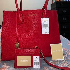 Like new AUTHENTIC MK Mercer XL bag